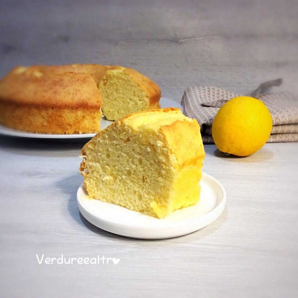 Ciambella Soffice al Limone con Mascarpone e Fecola
