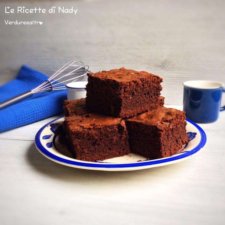 Brownies al Cacao e Cioccolato