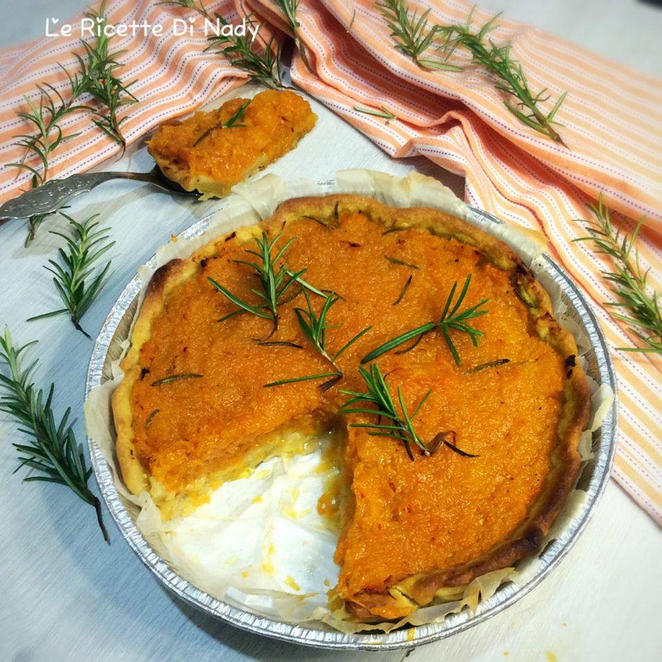 Torta Salata Brise con Zucca e Rosmarino