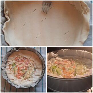 Torta Rustica alle verdure
