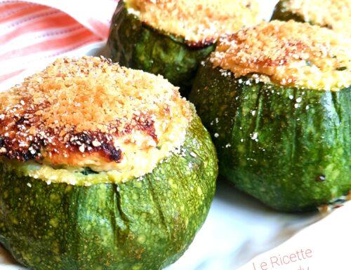 Video ricetta Zucchine tonde ripiene al Tonno