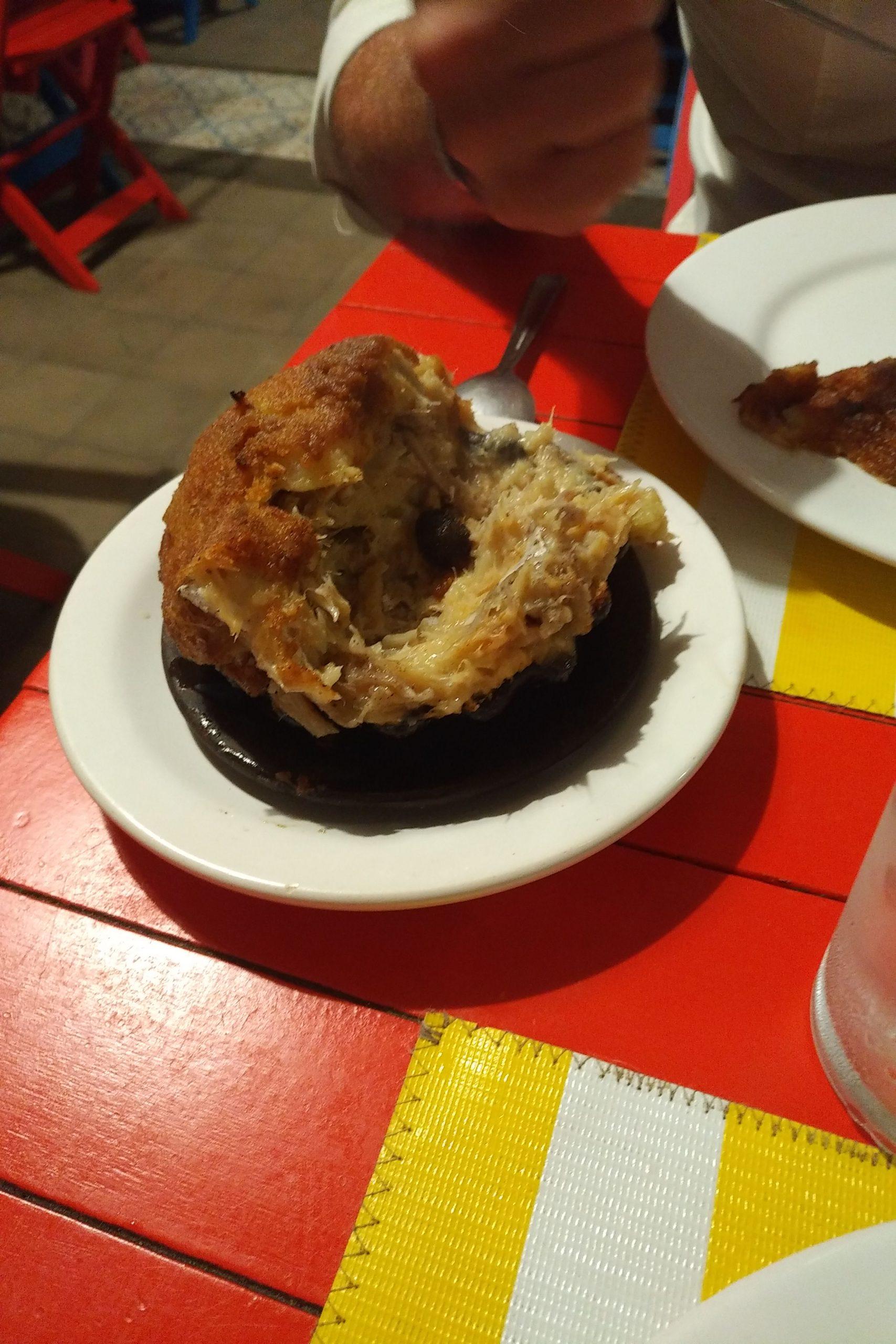 Casquinha de bacalhau (Conchiglia di baccalà)