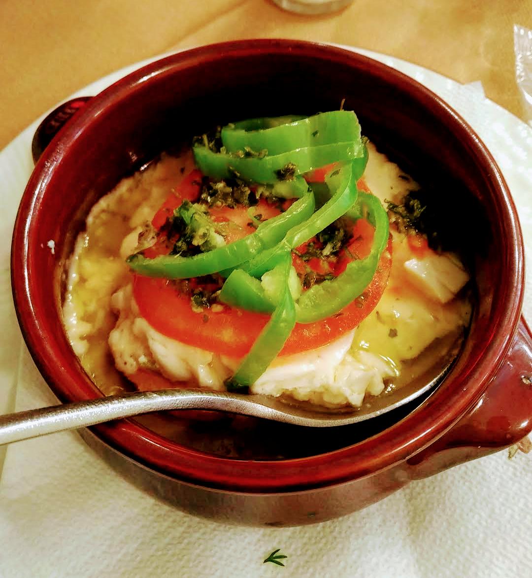 Feta fritta (saganaki) e feta al forno