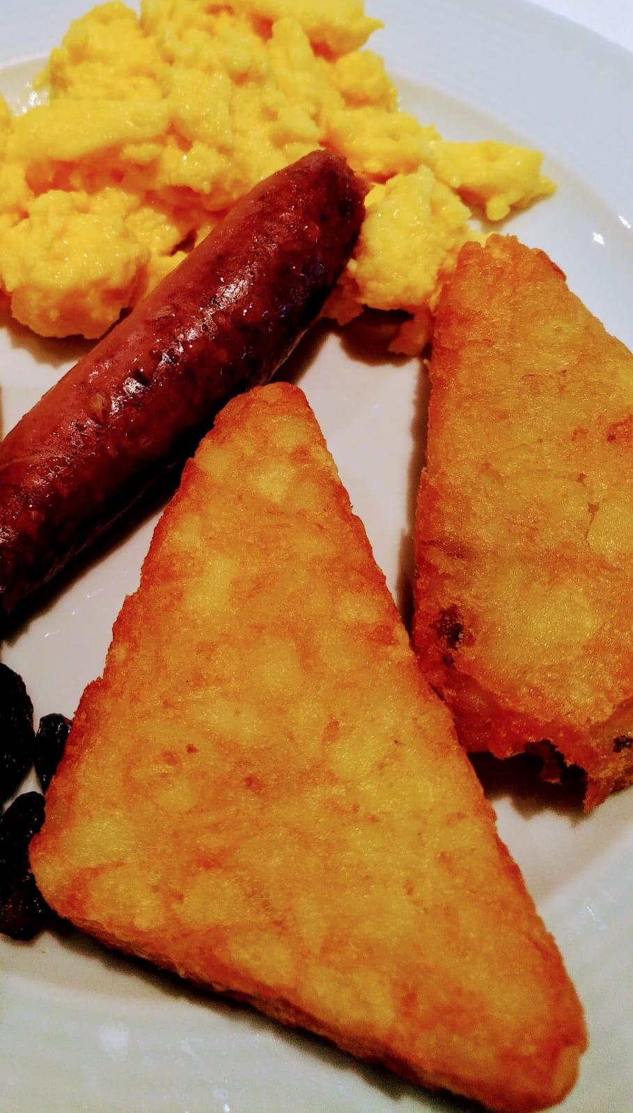 Ricetta hashbrowns colazione americana