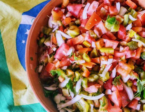 Mohlo vinagrete (salsa vinaigrette)