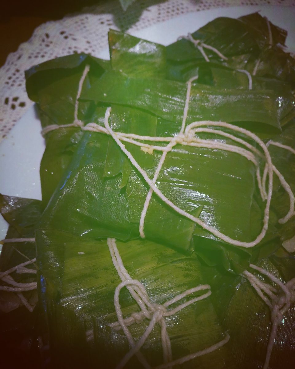 Ricetta dei Tamales bogotanos ViaggiandoMangiando