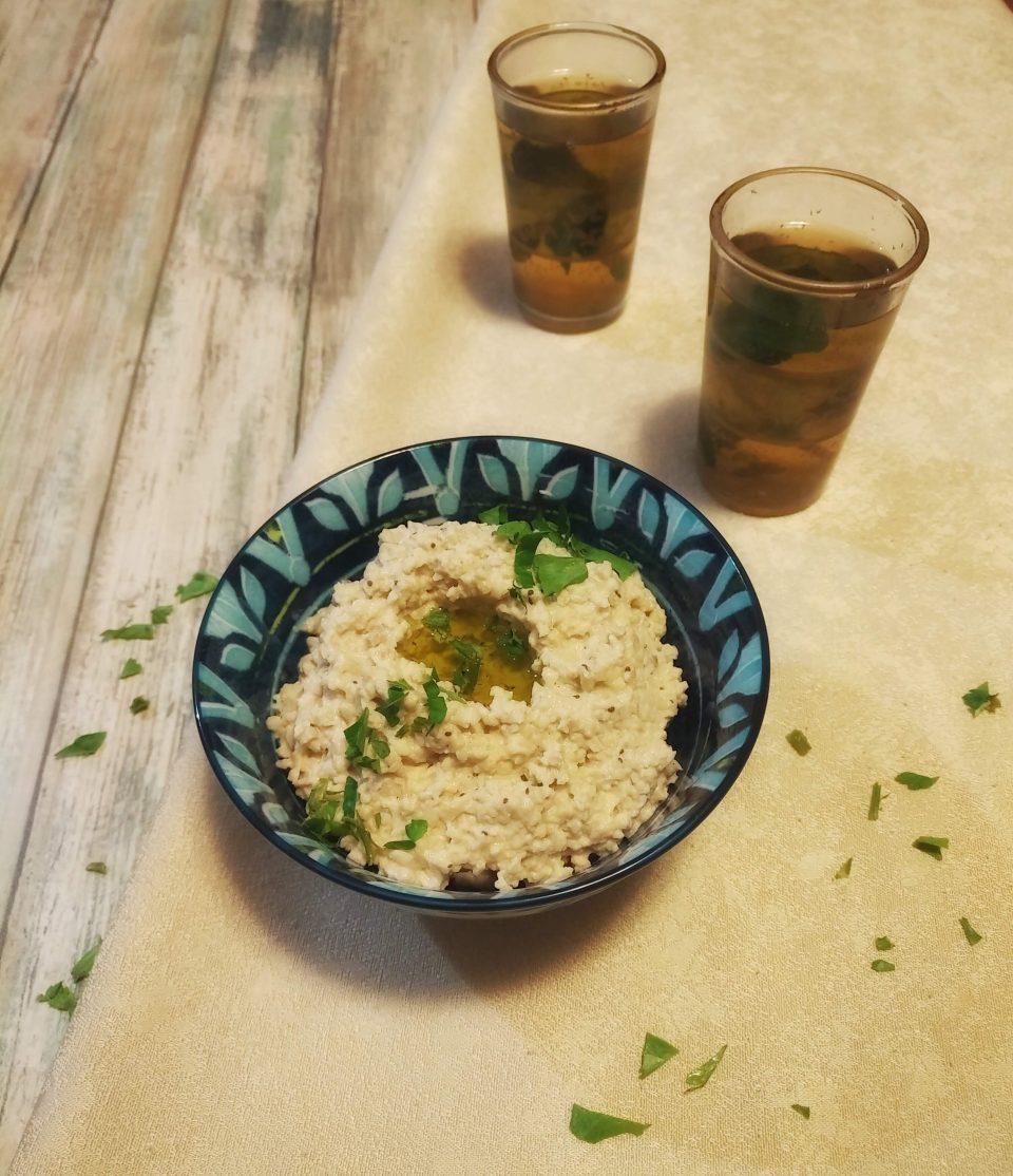 moutabel salsa di melanzane Giordania con yogurt ViaggiandoMangiando