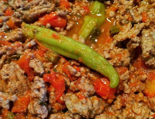 Bamje me mish te grire (Albania)