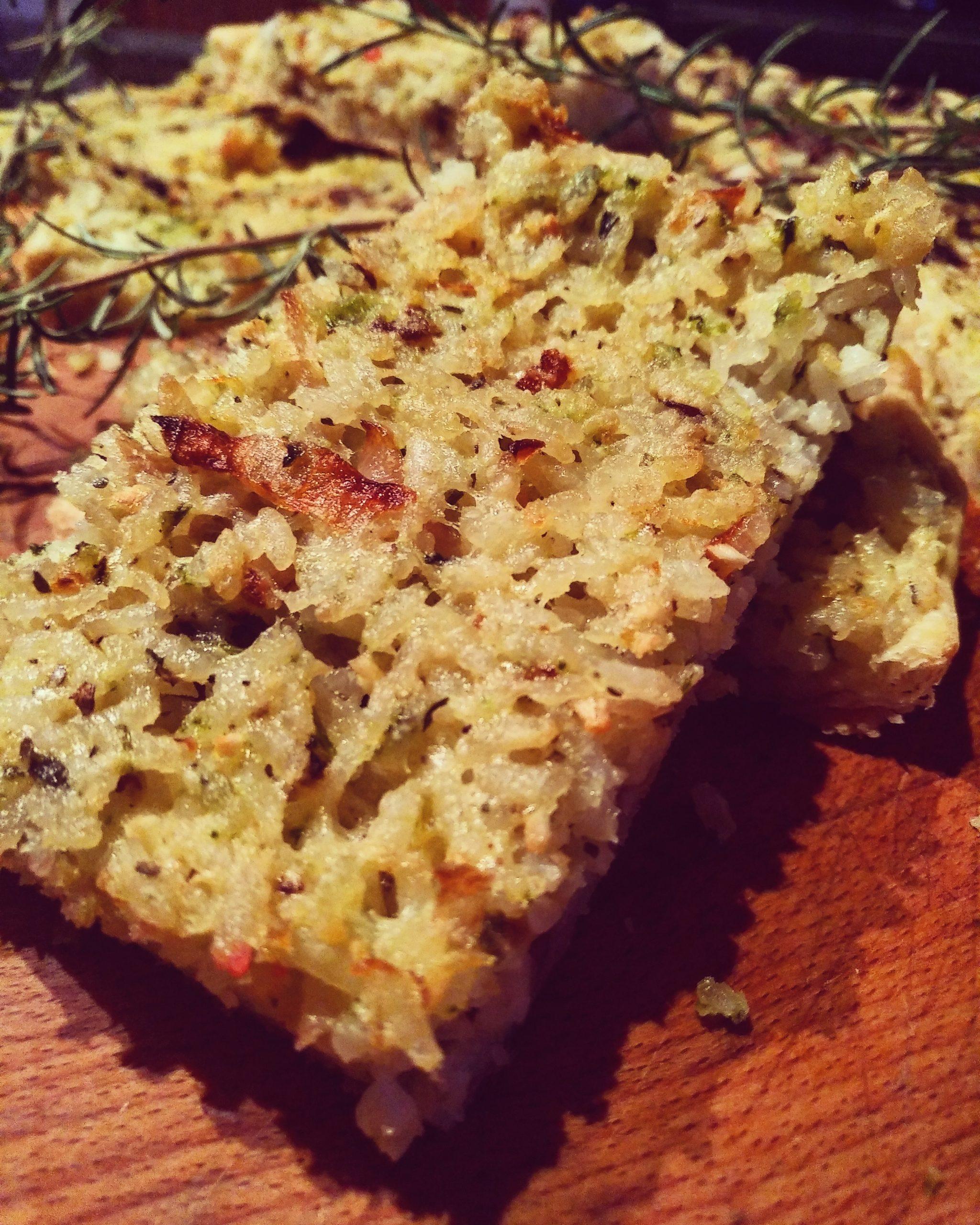 Torta di riso alla ligure