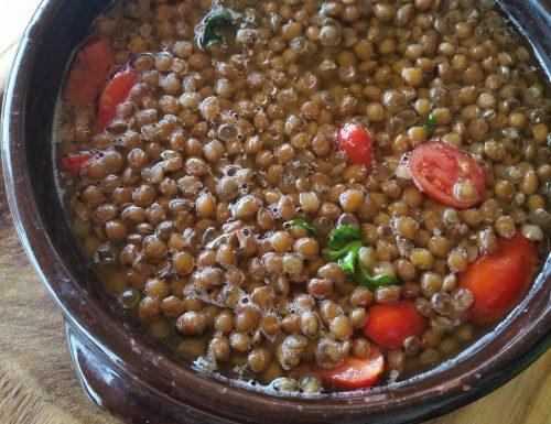 Zuppa di Lenticchie alla ponzese