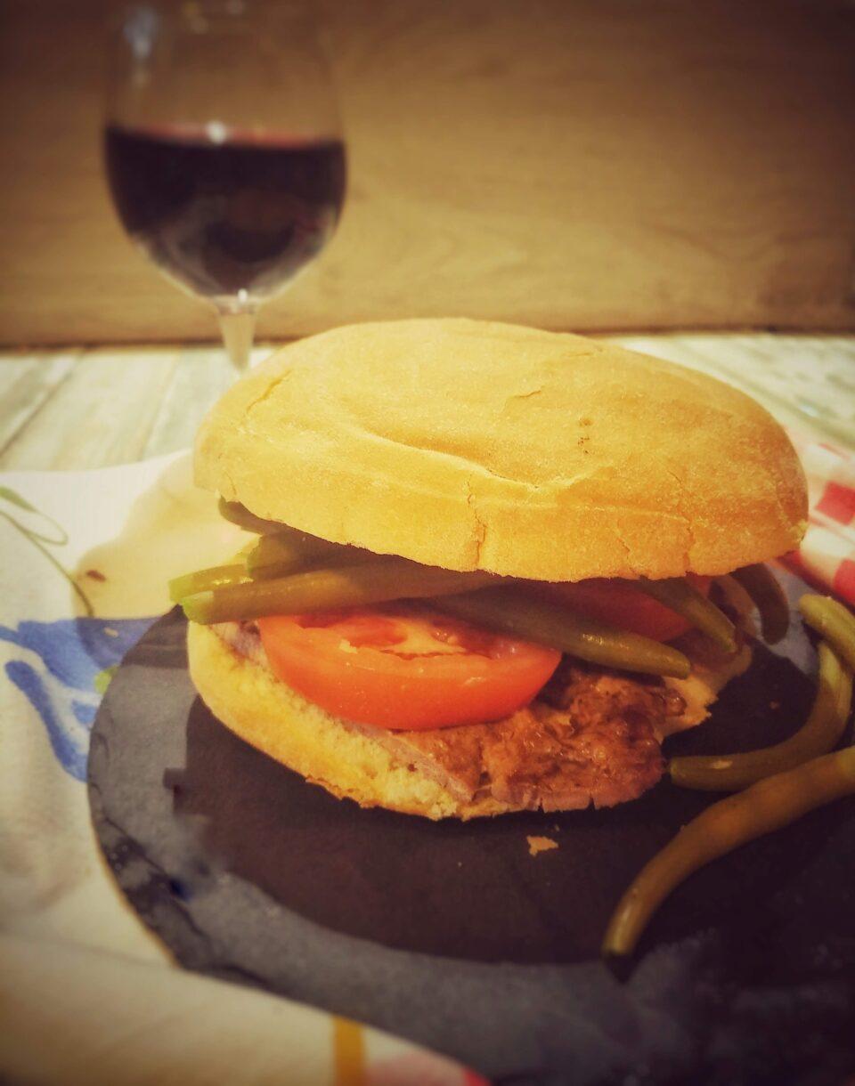 Ricetta panino con fagiolini chacarero Cile