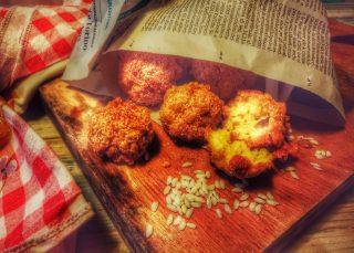 Ricetta ò cuoppo napoletano di terra con panzarotti frittatine sciurilli zeppole scagliuozz e palle di riso