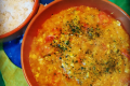 Pirao de peixe (crema di tapioca con pesce)