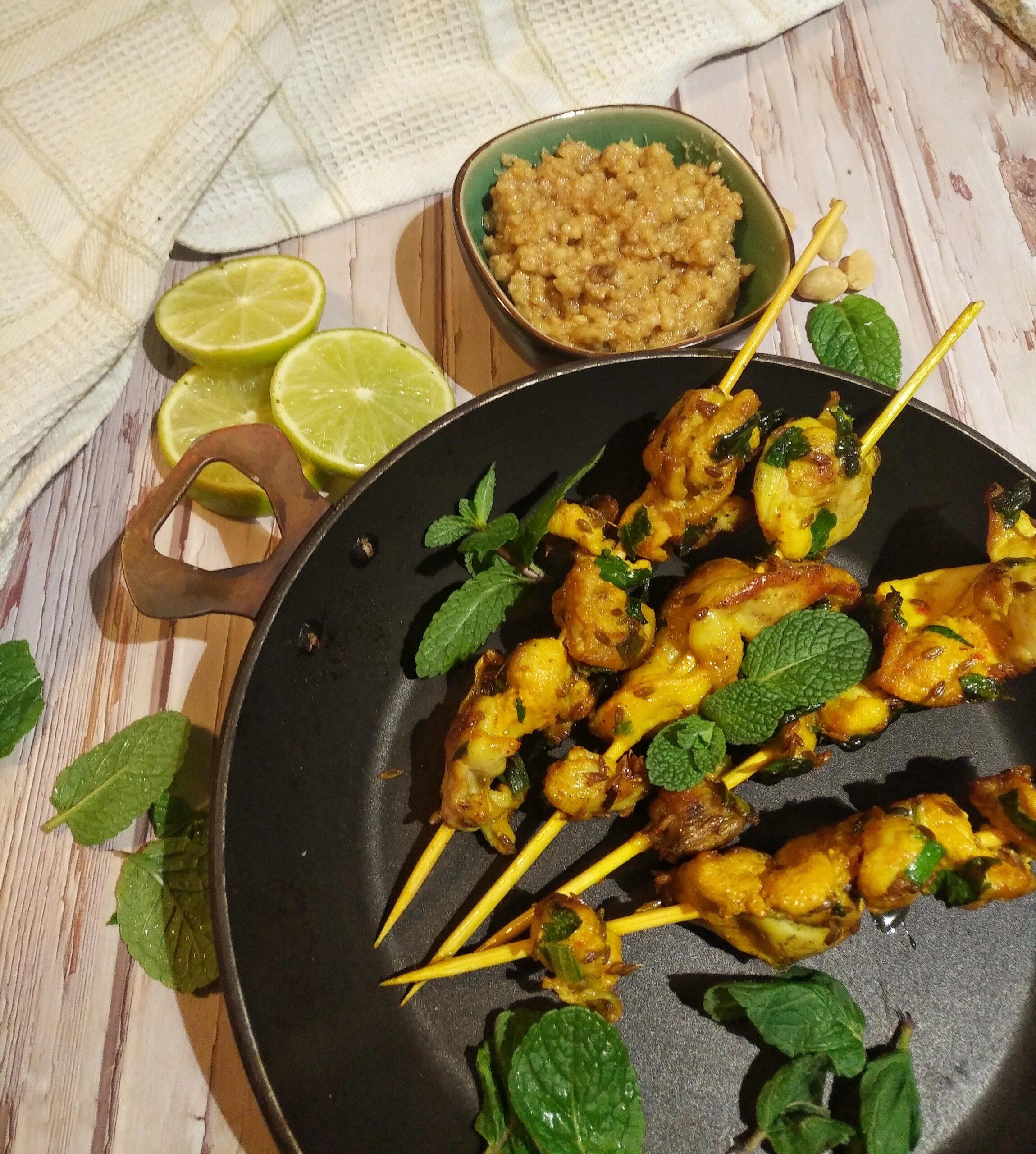 Saté ayam (Indonesia)
