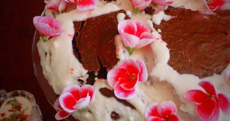 Red Velvet Cake alla crema al geranio- Senza lattosio e senza glutine (Stati Uniti)