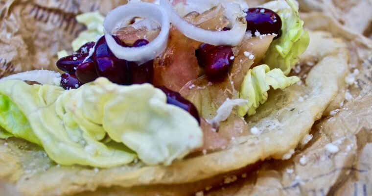 Tacos Navajo – Frybread (Stati Uniti)