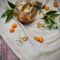 Crumble di kumquat nel vasetto (Inghilterra)