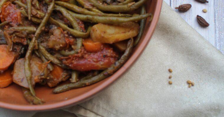 Tarkari vegetariano (Nepal)