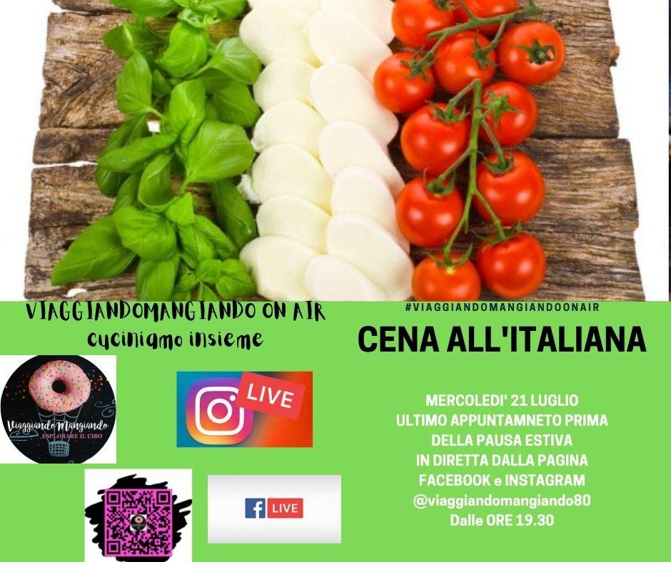 ViaggiandoMangiando On air- Cena italiana