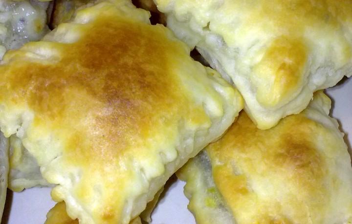 Stuzzichini di pasta sfoglia e zucchine per buffet