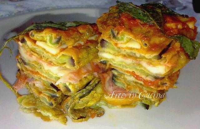 Parmigiana di melanzane ricetta napoletana menu ferragosto vickyart arte in cucina