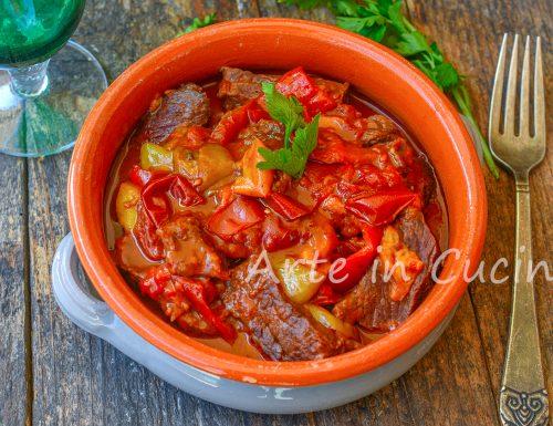 Spezzatino con i peperoni