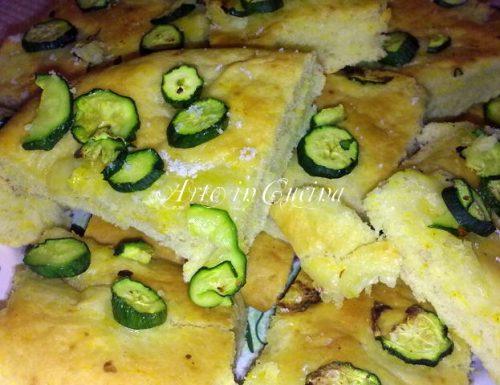 Focacce allo zafferano ricette pizza