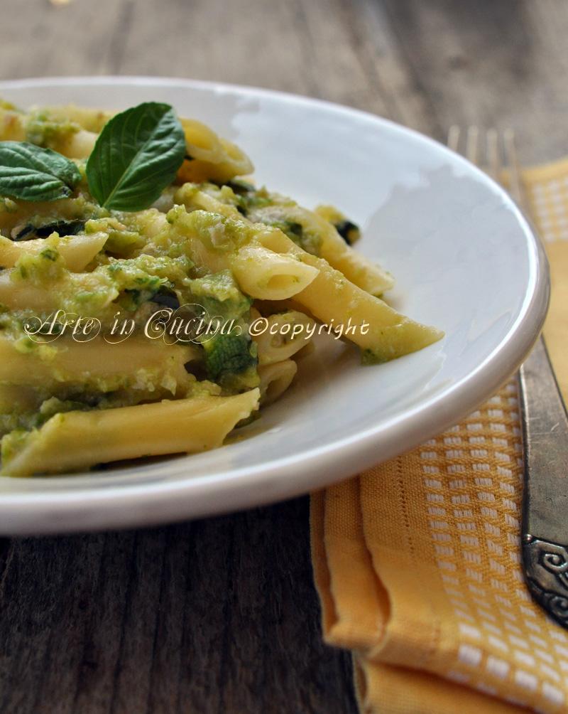 Pesto di zucchine e prosciutto vickyart arte in cucina