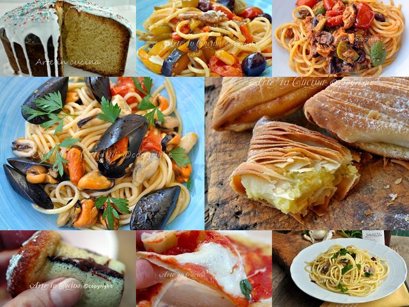 Ricette napoletane piatti regionali arte in cucina for Cibi tipici di roma
