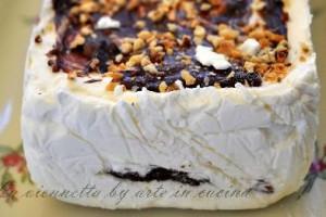 La viennetta, torta gelato al cioccolato senza glutine