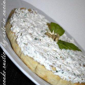 Cheesecake rustica alle noci