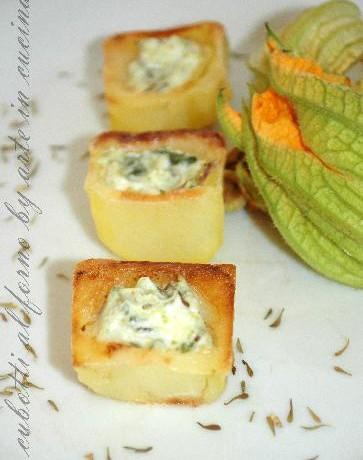Patate e ricotta al forno