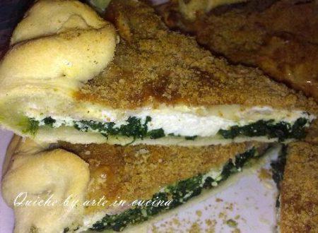 Quiche ricotta e spinaci