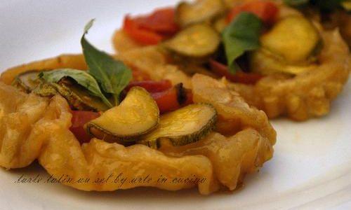 Crostata con verdure, ricetta veloce