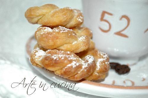 A tazzulell e cafe' biscotti veloci alla cannella