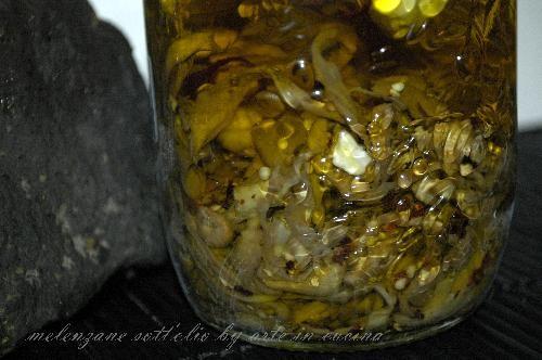 Le melanzane sott'olio di nonna Ottavia