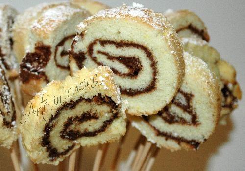 Buffet dolce… girandole alla nutella