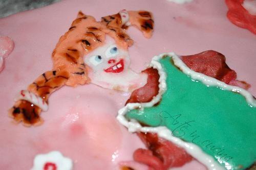 Buffet dolce torta Pippi Calzelunghe