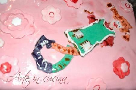 Buffet dolce.. La torta Pippi Calzelunghe vickyart