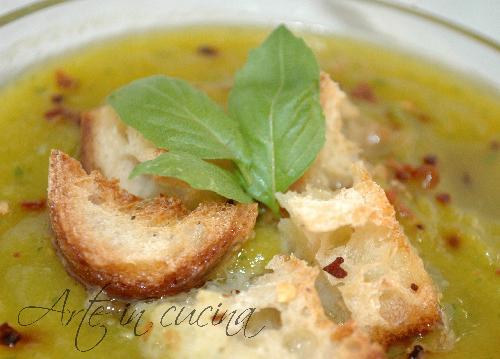 Vellutata di zucca e zucchine ricetta facile e veloce vickyart arte in cucina