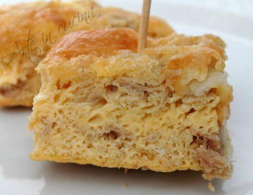 Flan au thon frittata al forno
