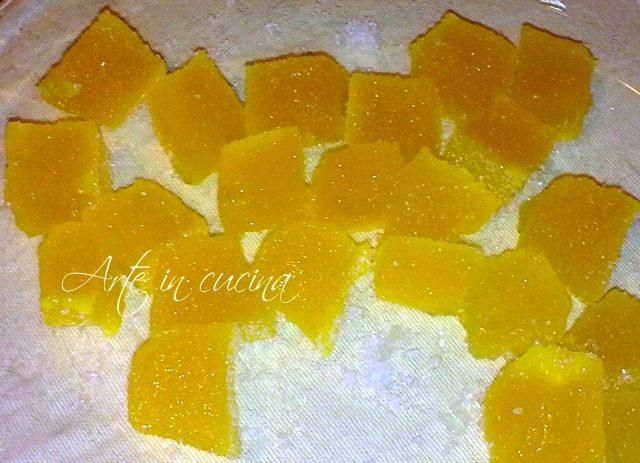 Caramelle gelèe all'arancia
