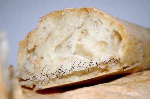 Baguettes con pasta madre