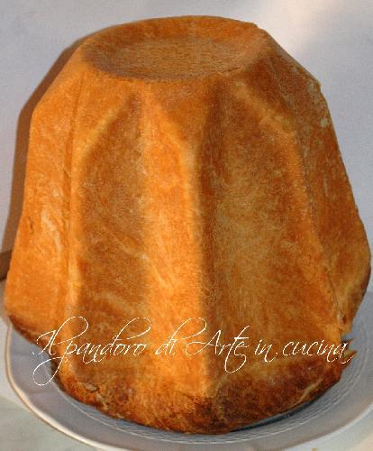 Pandoro sfogliato ricetta facile fatto in casa arte in cucina vickyart