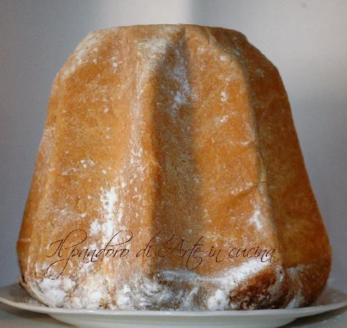 Pandoro sfogliato ricetta facile fatto in casa