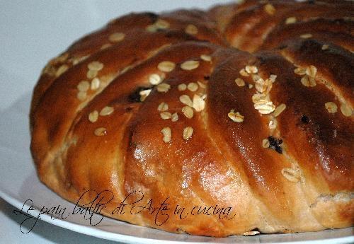 Pane baltico con cioccolato