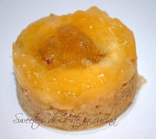 Sweeties,dolcezze di panettone, crema al burro meringata,croccante e gelatina al mandarino