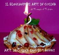 Primo compleanno blog di cucina