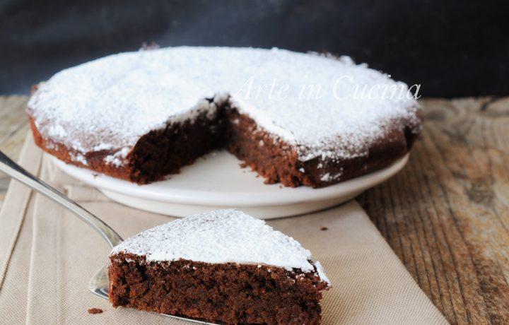 Caprese al cioccolato ricetta originale dolce napoletano