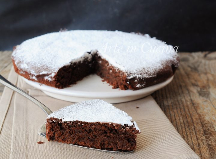 Caprese al cioccolato ricetta originale dolce napoletanoCaprese al cioccolato ricetta originale dolce napoletano